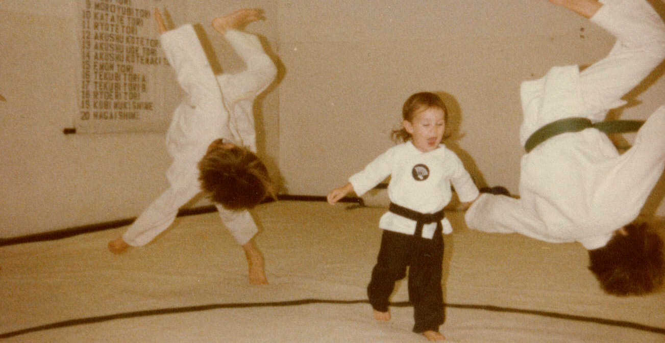 The Sr Grandmaster's daughter showing off her moves at 2 years old.