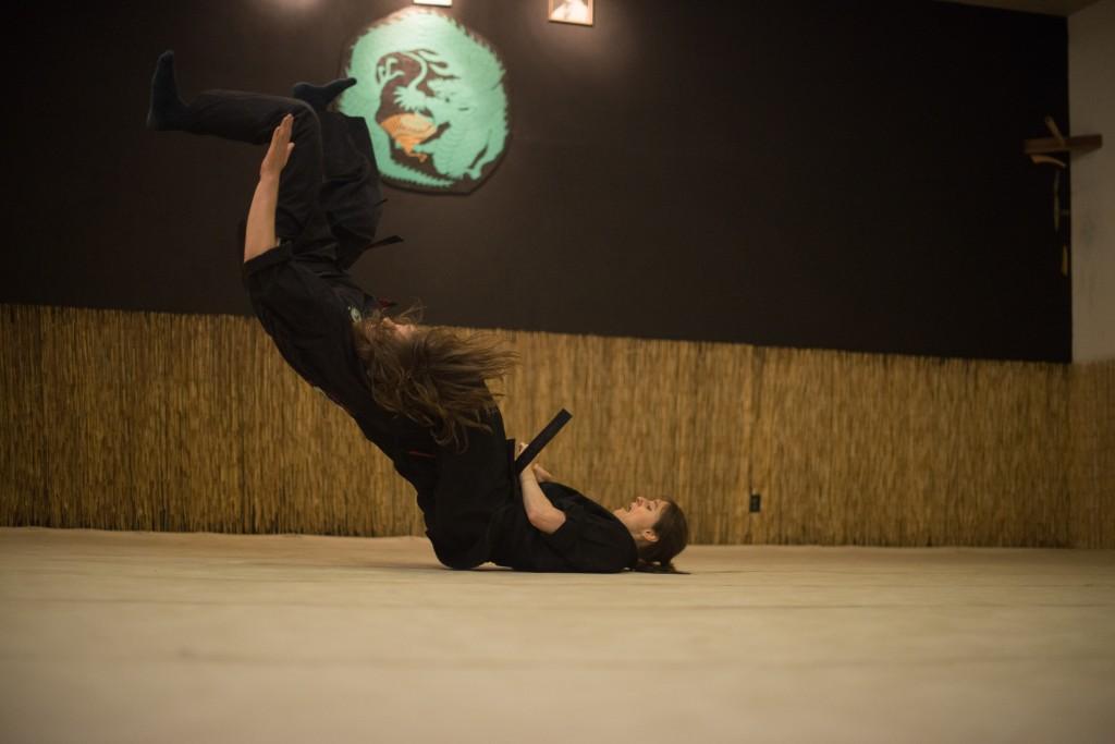 Hikari Ryuza Bujutsu throw